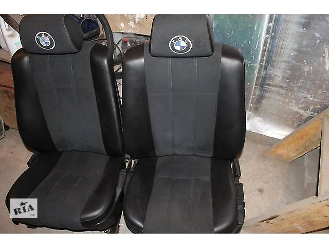Продаю сидения БМВ Е32/Е34 Передние+задние.- объявление о продаже  в Львове
