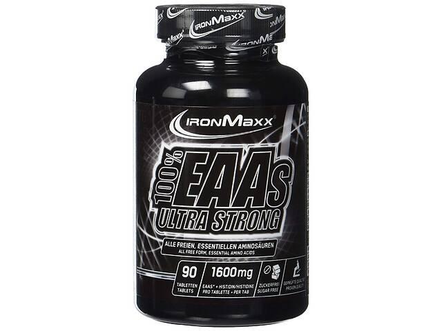 Аминокислоты IronMaxx 100% EAAs Ultra Strong - 90 таб. (банка)(816112)- объявление о продаже  в Полтаве