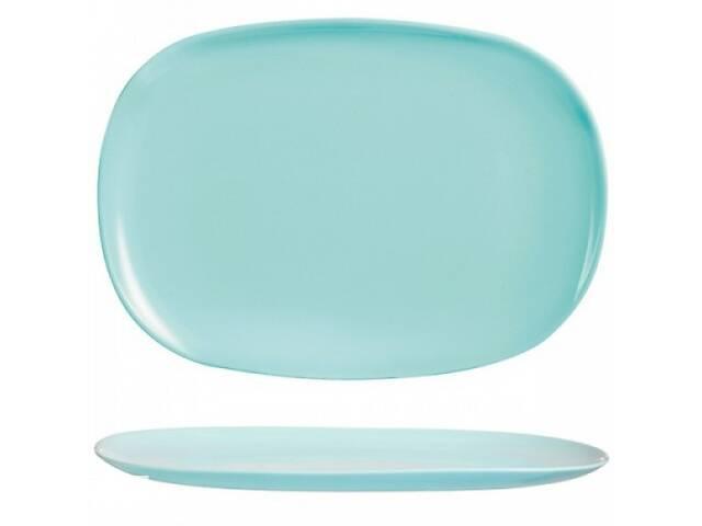 купить бу Блюдо прямоугольное Luminarc Sweet Line Turquoise 35 см P9797 в Чернигове