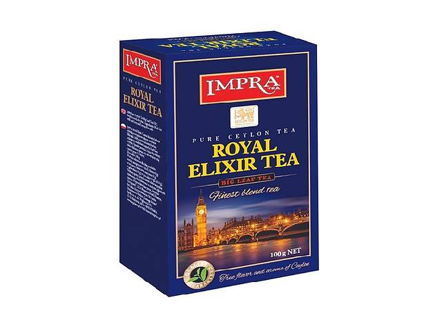 Чай Impra Royal Elixir Delight Tea (Королевский эликсир Классический)- объявление о продаже  в Киеве