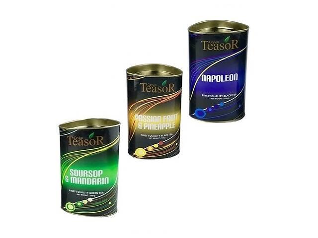 Чай Teasor Collection 1, с кусочками фруктов, цейлонский, 3x100 г, 300 г- объявление о продаже  в Киеве