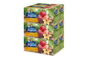 Чай в пакетиках Grandma's Tea, клубника и ваниль из Мадагаскара, 2г*20шт, 6 уп