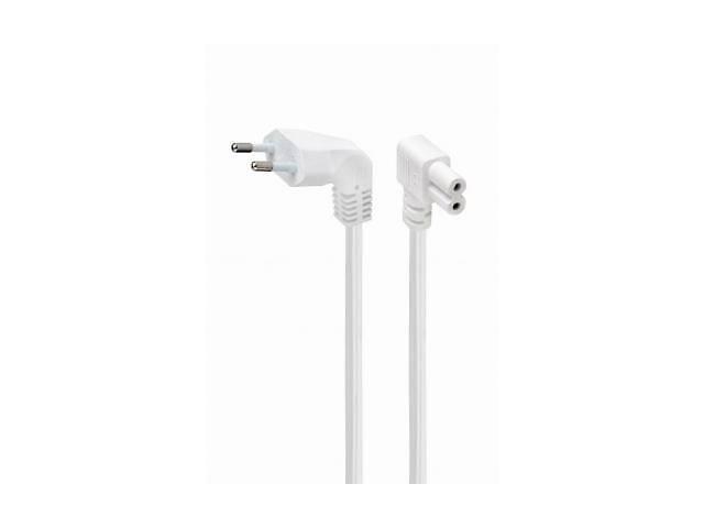 продам Кабель питания C7 2.5m corner white Cablexpert (PC-184L-VDE-2.5M-W) бу в Харькове