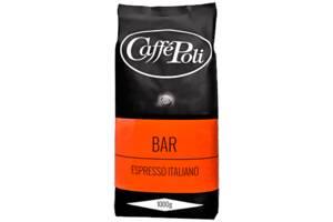 Кава натуральна смажена в зернах Сaffe Poli Bar