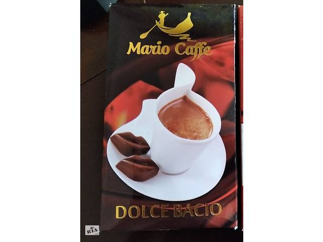 Кофе Mario Caffe Dolce Bacio 250g молотый- объявление о продаже  в Киеве