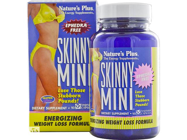 продам Комплекс для похудения Natures Plus Skinny Mini 90 гелевых капсул (NTP4328) бу в Киеве