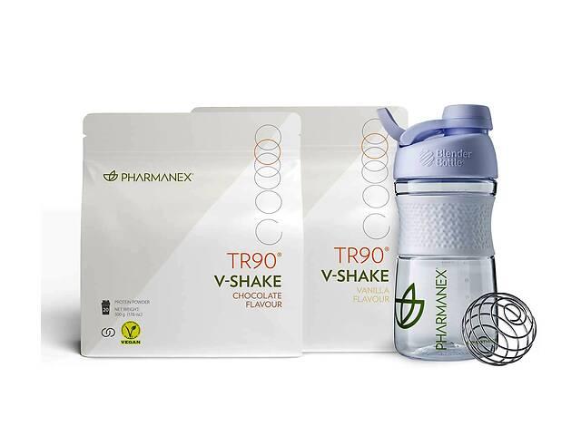 купить бу Набор с Веганским протеиновым коктейлем TR90 V-Shake в Киеве