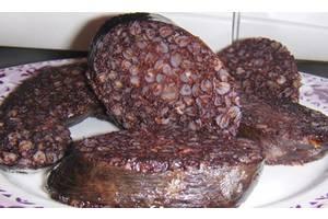 натуральная колбаса кровянка (по польски кашанка)