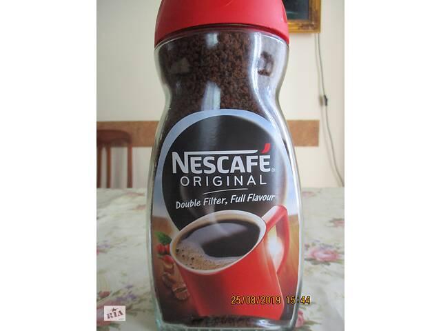 купить бу Nescafe Original 300g Великобритания стекло в Львове