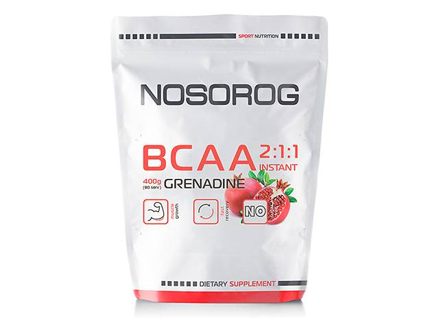 купить бу Nosorog BCAA 2:1:1 гранат, 400 гр в Мариуполе