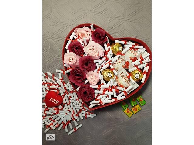 Подарочный Набор Боск с мыльными розами и любовными записками- объявление о продаже  в Ровно