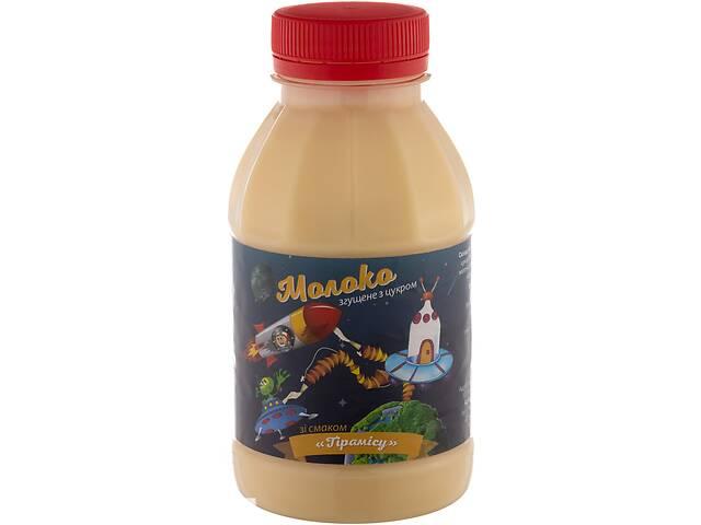 Продукт сгущенный с маслом и сахаром со вкусом ТИРАМИСУ пэт / бутылка 370 гр.экспорт