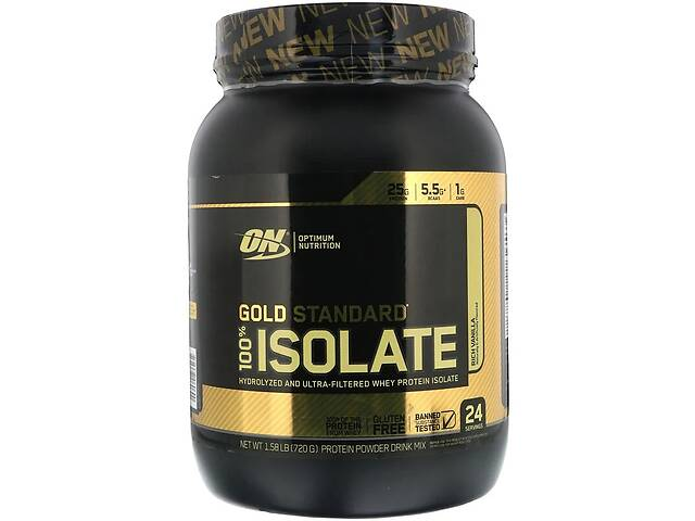 купить бу Протеин Optimum Nutrition Gold Standard 100% Isolate 720 г в Полтаве