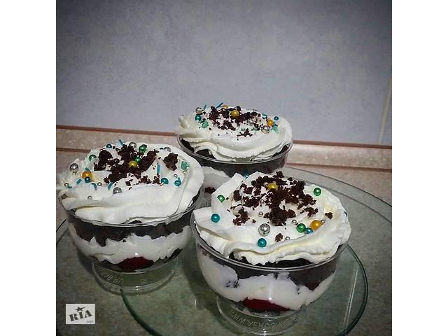 купить бу Трайфл (десерт в стаканчике) в Мелитополе