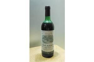 Вино Rioja Anares 1982 год