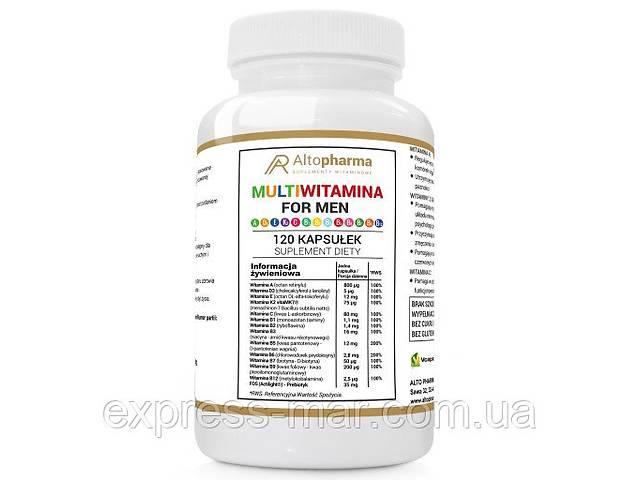 купить бу Витамины Altopharma мультивитамины для мужчин ADEK B C WEGE - 120 капс в Харькове