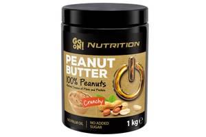 Заменители питания GoOn Peanut butter crunchy 100% 1000 г (813899)
