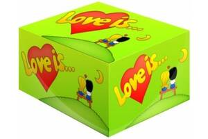 Жуйка Love is. .. Яблуко-Лимон