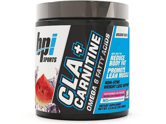 купить бу Жиросжигатели BPI Sports CLA Plus Carnitine 350 г - watermelon Freeze в Полтаве