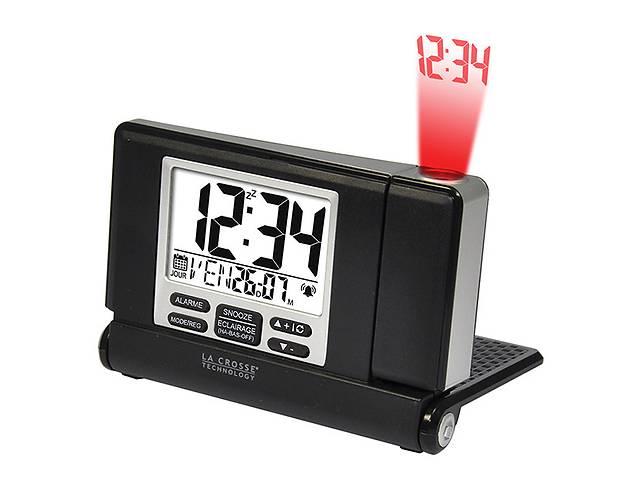 купить бу Проекционные часы La Crosse WT525-Black/Silver в Дубно (Ровенской обл.)