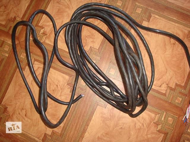 купить бу Провод кабель шнур ВВГнг 7*1,5 м2 и 14*1,5 м2 - 10 м остаток в Донецке