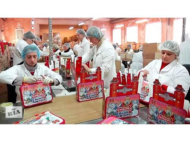 купить бу Рабочие на кондитерскую фабрику Camille Bloch Factory в Ровно