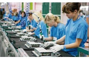 Рабочие на завод телевизоров TPV