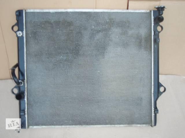 купить бу радиатор для Toyota Land Cruiser Prado 120 4.0i 2006 в Львове