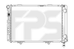 Радиатор Mercedes 124 84-96 производитель NRF