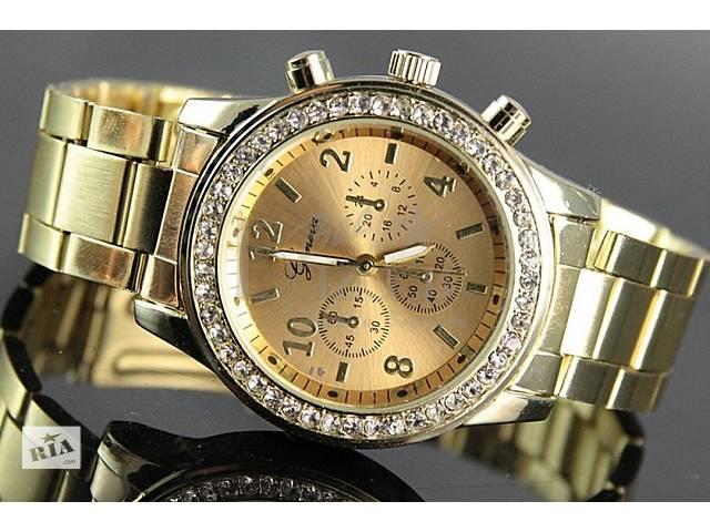 Распродажа! Женские часы Geneva! Swarovski 4цвета- объявление о продаже  в Львове