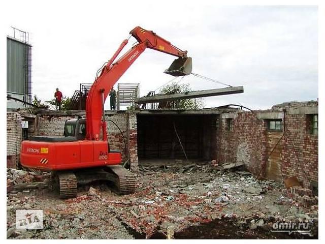 купить бу Разберем здания на стройматериалы. Разборка Демонтаж  в Украине