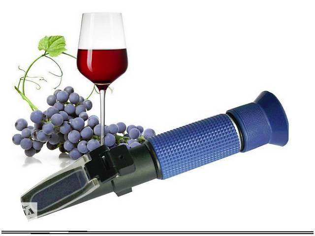 Рефрактометр для вина и сусла RHW-25DATC, 0-40% Brix, 0-25% vol, 0-22% Baume, 3 шкалы- объявление о продаже  в Южном (Одесской обл.) (Южный)