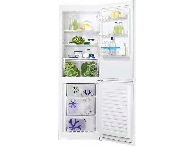 купить бу Новий запакований двокамерний холодильник ZANUSSI ZRB34210WA в Одесі