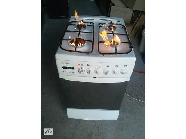 купить бу Плита газовая с электро духовкой 50 ка бы.у из Европы в Каменке-Бугской