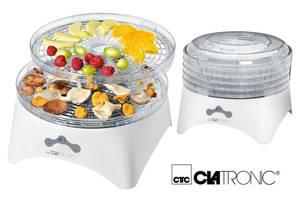 Новые Сушилки для фруктов и овощей Clatronic
