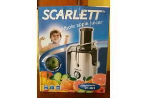 Нові Соковижималки Scarlett