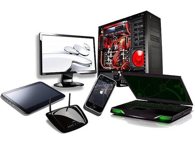 Ремонт ноутбуков, компьютеров, планшетов, мобильных телефонов в Буче