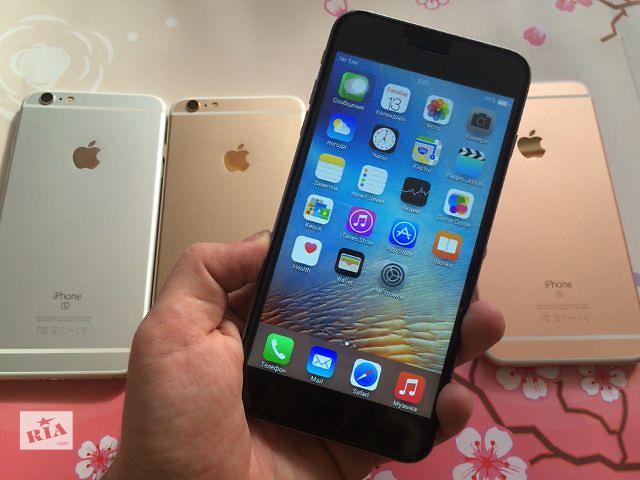 """бу Apple Iphone 6S+ Plus 5.5"""" 4G! 4-Ядра! GPS! У Нас Вы Покупаете Безопасно! Звони Сейчас! ЗВОНИ И ПОЛУЧИ ПОДАРОК! Копия в Киеве"""