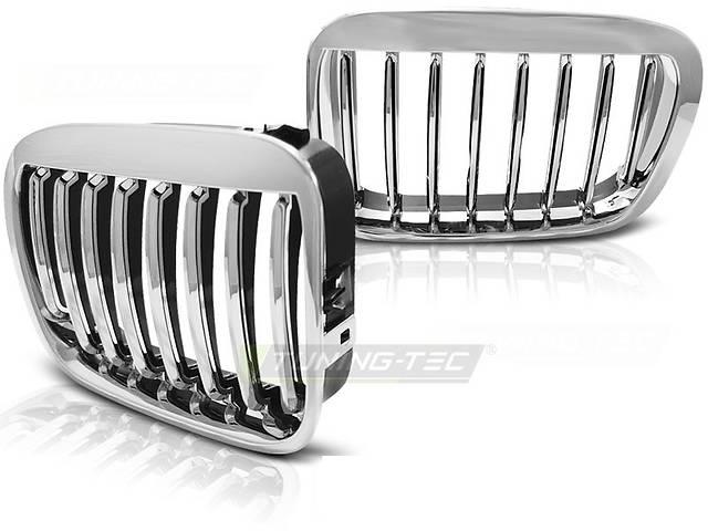 купить бу Решетка радиатора ноздри BMW E46 седан хром GRBM04 БМВ Е46 в Луцке
