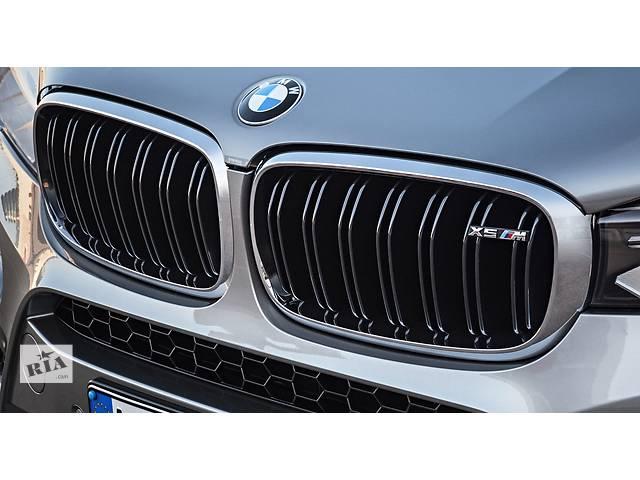 Решетка радиатора ноздри тюнинг BMW X5 F15 стиль M Sport Paket X5M хром окантовка БМВ Х5 Ф15- объявление о продаже  в Луцке