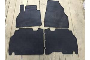 Резиновые коврики (4 шт, Polytep) Nissan X-trail T31 2007-2014 гг. / Резиновые коврики Ниссан Х-Трейл