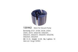 Ротор вакуумной помпы генератора Cargo 135942