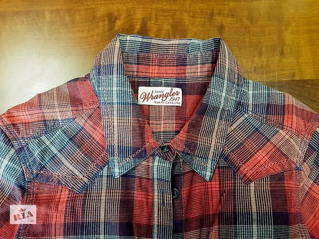 купить бу Продаю женскую рубашку в клетку Wrangler в Киеве