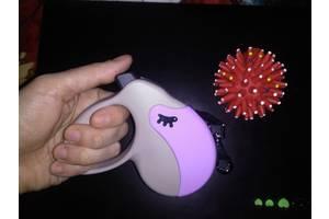Рулетка-Поводок для собак ferplast amigo mini 3м, до 12кг, стрічка