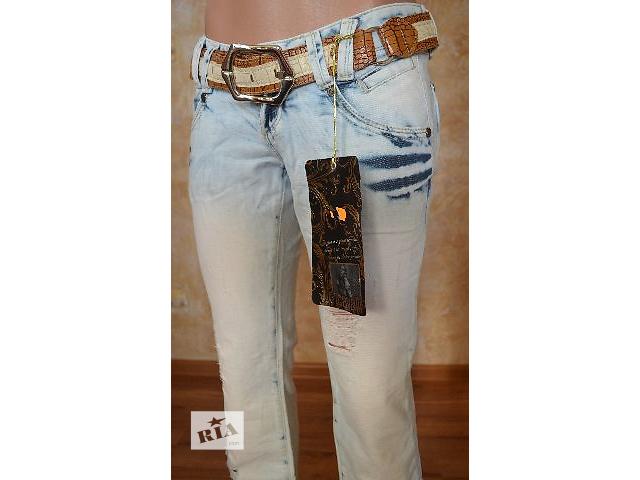 продам Рваные женские джинсы JUSTCAVALLI бу в Умани
