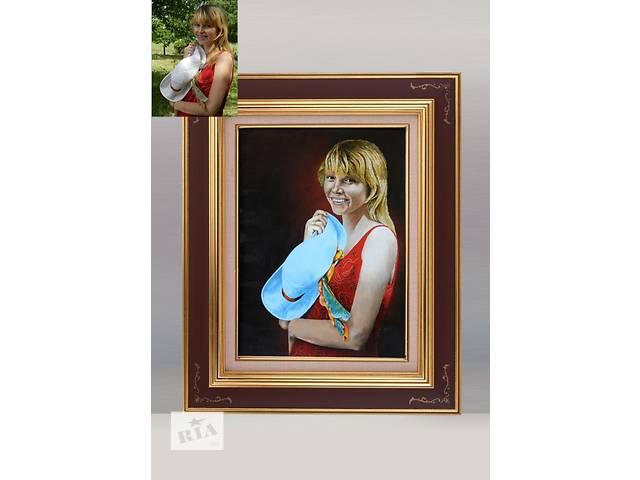 купить бу Рисую портреты по фото, карандаш, пастель, масло. в Смеле (Черкасской обл.)