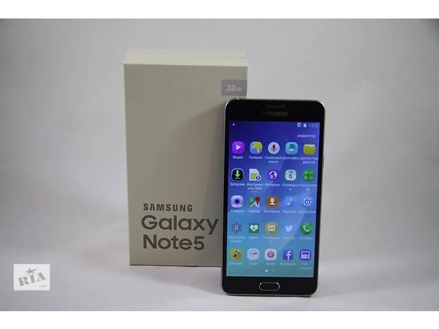 продам Samsung Galaxy Note 5 (1SIM) ( белый, черный) бу в Киеве