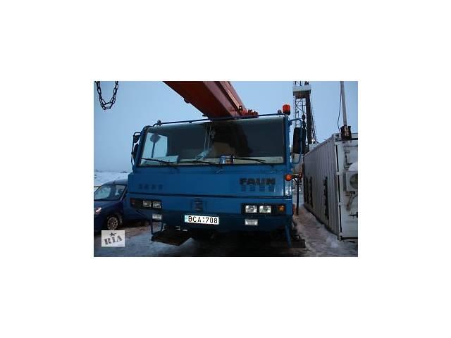 продам Аренда автокрана FAUN RTF 40-3 тонн 55 метров стрела бу  в Украине
