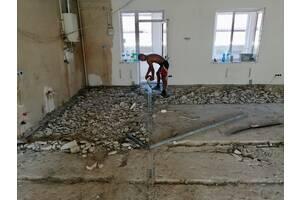 Демонтаж стен,перегородок