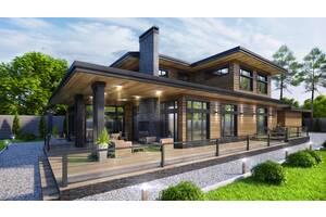 Деревянные дома от производителя - АТТИКА, экологически чистые дома из клееного бруса.